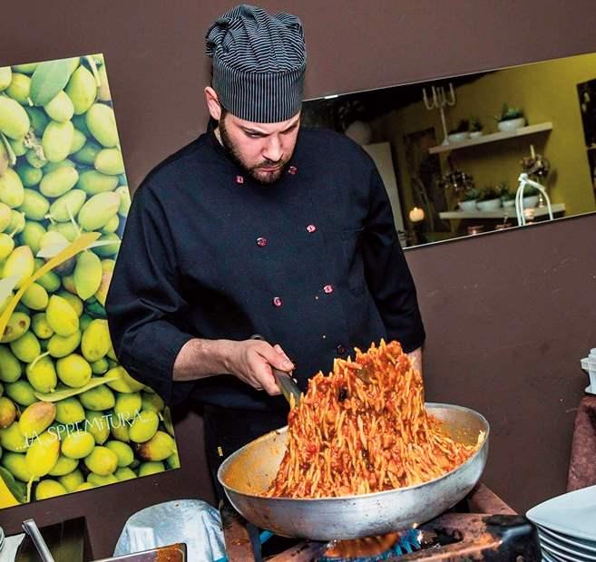 L innovazione culinaria di un giovane chef bagherese il for Gente settimanale sito