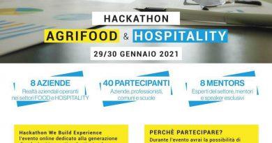 Locandina We Build Experience - Evento on line dal 29 al 30 gennaio 2021, dedicato al comparto turistico ed enogastronomico in Sicilia, organizzato da WeStart incubatore di startup