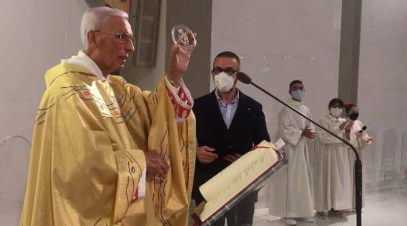 BAGHERA don Luciano Catalano, la cittadinanza onoraria del Comune