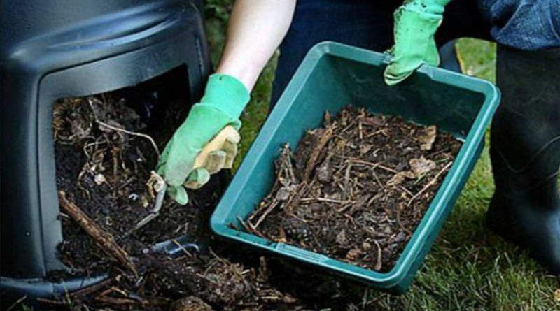 La compostiera domestica per ridurre l'umido nei rifiuti